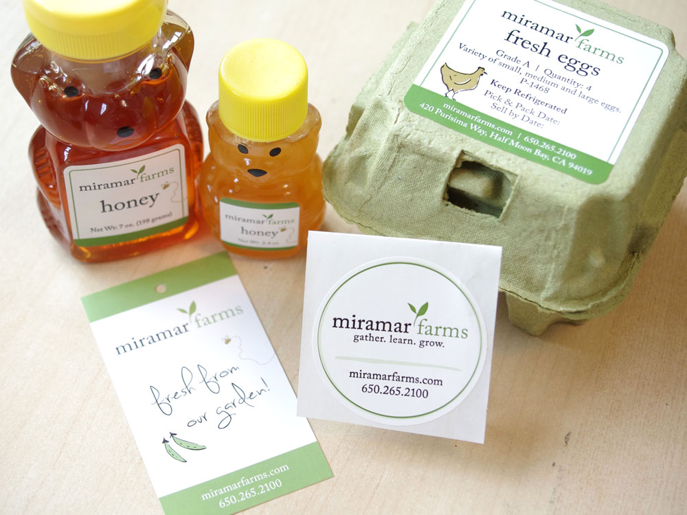 Miramar Farms Product Labels