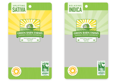 Green Barn Farms Packaging
