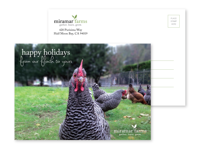 Miramar Farms Print Collateral