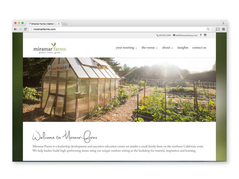 Miramar Farms Website