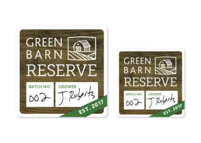 Green Reserve Labels