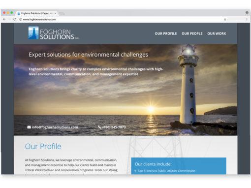 Foghorn Solutions Website